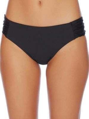 Luxe by Lisa Vogel Premiere High-Rise Bikini Bottom $58 thestylecure.com