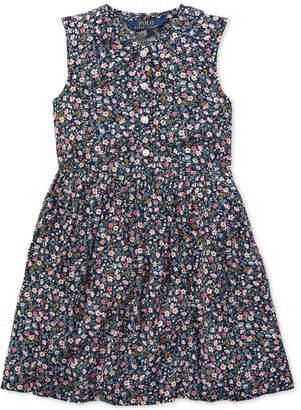 Polo Ralph Lauren Toddler Girls Floral Shift Dress