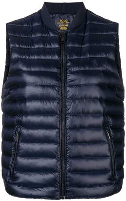 Polo Ralph Lauren logo embroidered padded gilet