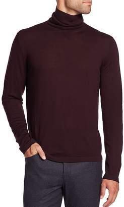 Toscano Men's Merino Wool Turtleneck Sweater