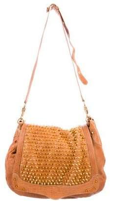 Rebecca Minkoff Studded Leather Messenger Bag