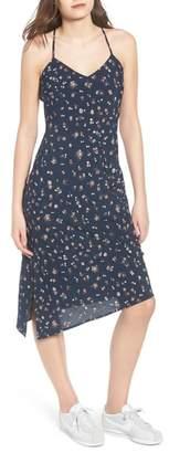 AG Jeans Scarlett Print Midi Dress