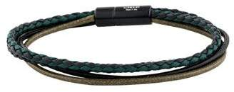 Tateossian Leather Multistrand Bracelet
