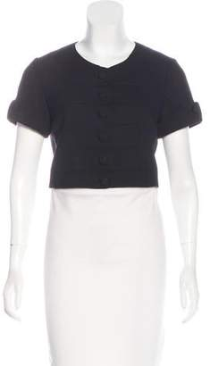 Temperley London Wool Short Sleeve Jacket