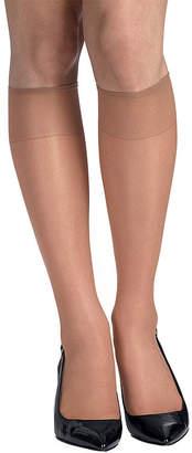 Hanes 2-pk. Knee-High Reinforced Toe Hosiery