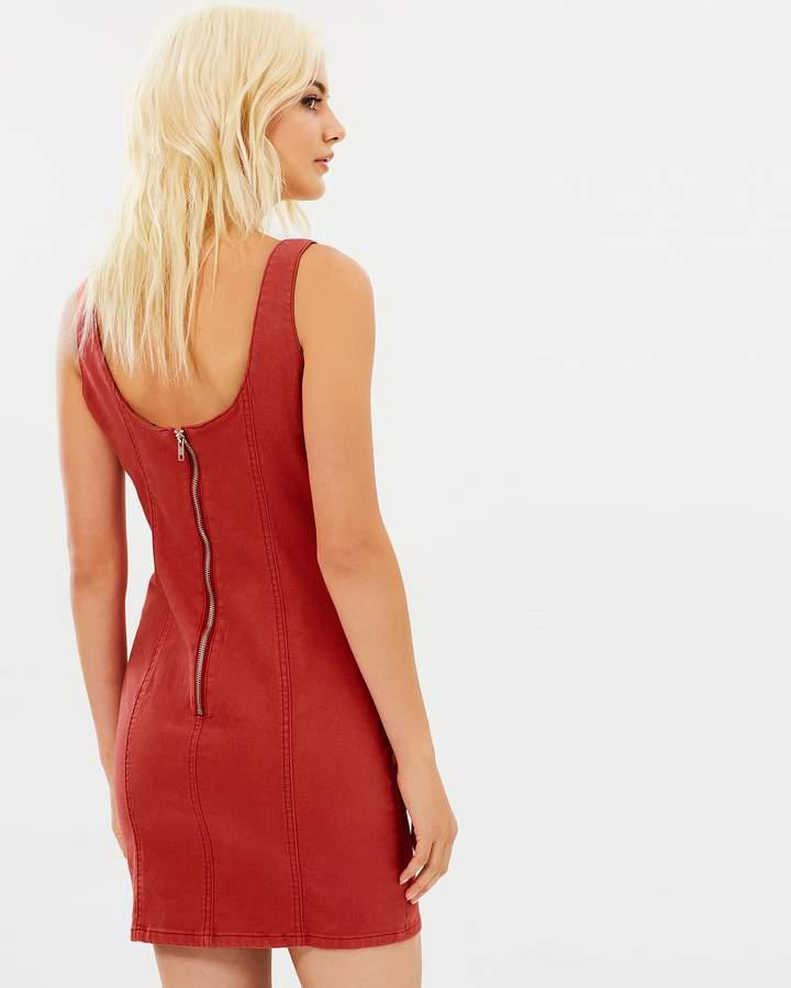 MinkPink Vivian Stretch Bustier Dress