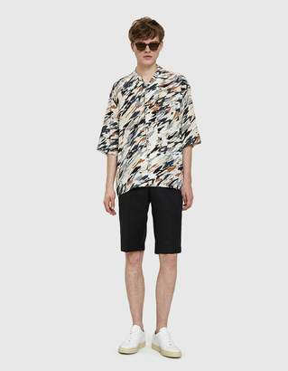 Sacai Tuxedo Group Shorts in Black