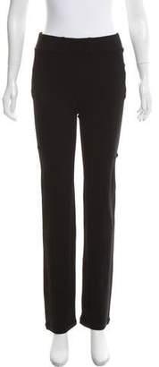 Yoana Baraschi Mid-Rise Straight-Leg Pants w/ Tags