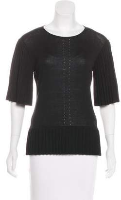 Altuzarra Pleated Knit Top