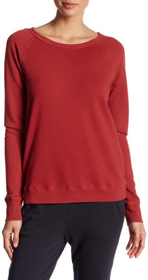 Soft Joie Crew Neck Solid Pullover Sweatshirt $138 thestylecure.com