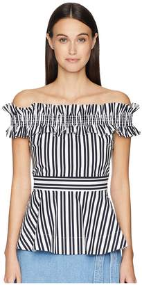 Kate Spade Candy Stripe Top Women's Clothing