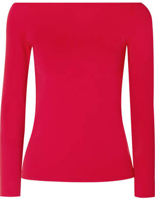 Helmut Lang Stretch-jersey Top - Red