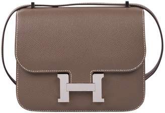 Hermes Constance leather crossbody bag