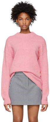 Tibi Pink Easy Cozy Sweater