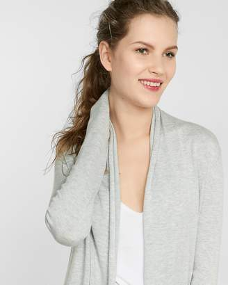 Express Heathered Roll Neck Cover-Up