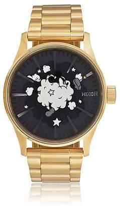 645f3283ca5 Nixon Men s Sentry SS Watch - Gold