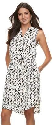 Apt. 9 Women's Drawstring Shirtdress