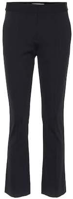 Diane von Furstenberg Cropped mid-rise pants