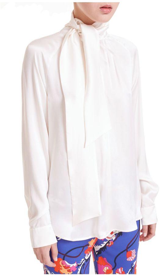 Max MaraMax Mara Neck Tie Shirt