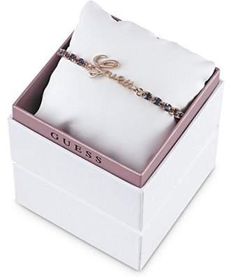 GUESS Women'S Bracelet Brass/Glass 20 cm Blue-UBS21505–S