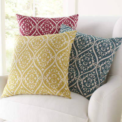 Wayfair Daisy Cotton Pillow Cover