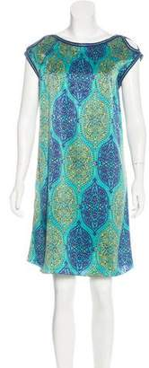 Andrew Gn Silk Printed Dress