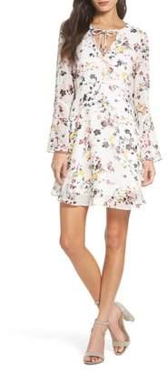 Sam Edelman Bell Sleeve A-Line Dress