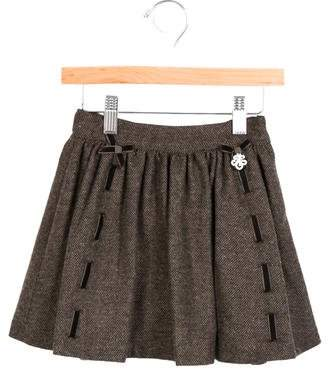 Tartine et Chocolat Girls' Tweed A-Line Skirt w/ Tags