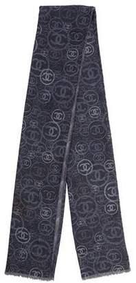 Chanel CC Cashmere Scarf