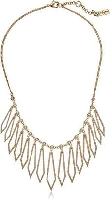Jessica Simpson Drama Pave Diamond Frontal Necklace