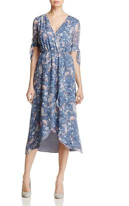 Ella Moss Wildflower Faux-Wrap Dress $268 thestylecure.com
