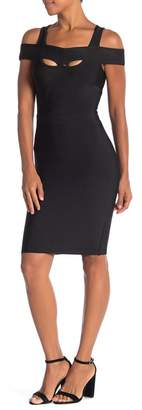 Wow Couture Cold Shoulder Bandage Dress