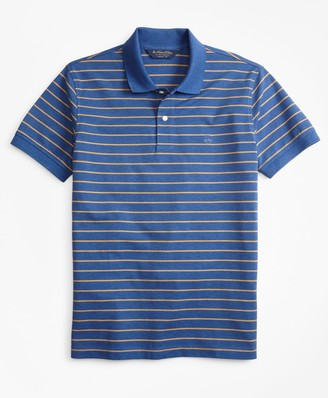 Brooks Brothers Original Fit Supima Cotton Stripe Polo Shirt