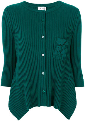 Twin-Set cardigan with lace detail pocket $223.96 thestylecure.com