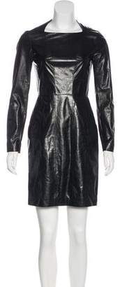 Chanel Leather Mini Dress