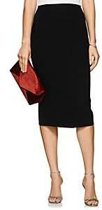 Zac Posen Women's Bonded Crepe Pencil Skirt - Black