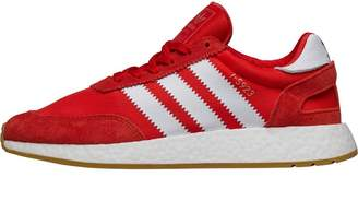 adidas Mens I-5923 Trainers Red/Footwear White/Gum3