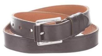 Ralph Lauren Matte Leather Belt