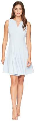 Taylor Solid Fit and Flare Dress Women's Dress