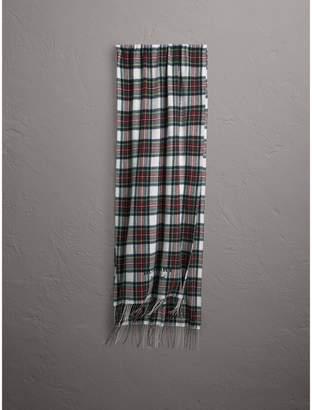 Burberry Oversized Tartan Cashmere Merino Wool Scarf