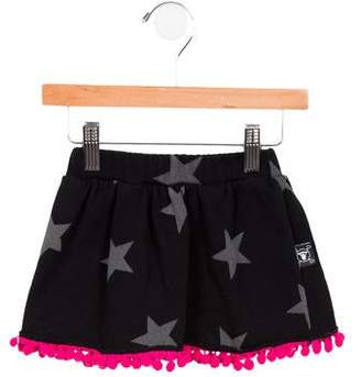 Nununu Girls' Star Print Skirt