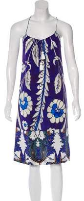 Figue Silk Printed Dress