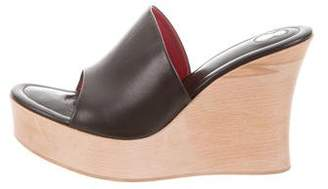 Free Lance Freelance Leather Wedge Sandals