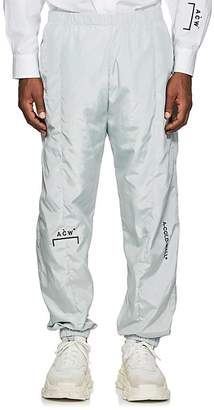 A-Cold-Wall* Men's Logo-Embroidered Track Pants