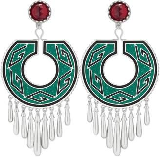Gucci Garden Geometric G earrings