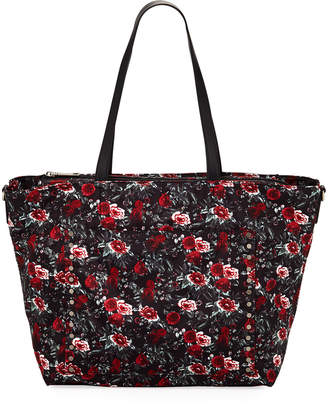 Rebecca Minkoff Logan Floral Nylon Diaper Tote Bag