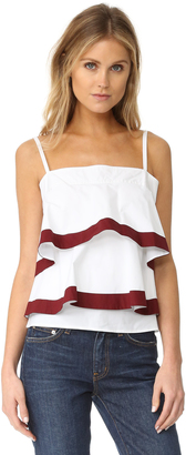 Tory Burch Sage Top $350 thestylecure.com