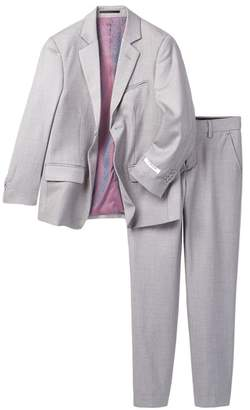 Isaac Mizrahi Slim Fit Solid Suit (Toddler, Little Boys, & Big Boys) $145 thestylecure.com