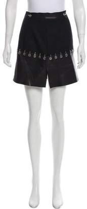 Thierry Mugler Leather Mini Skirt