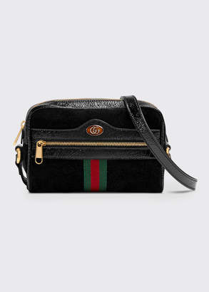 Gucci Ophidia Small Suede Crossbody Camera Bag